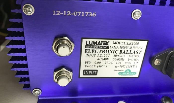 How-many-watts-does-a-1000-watt-ballast-use