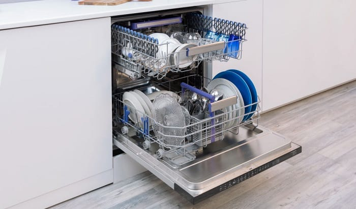 how many amps does a dishwasher use