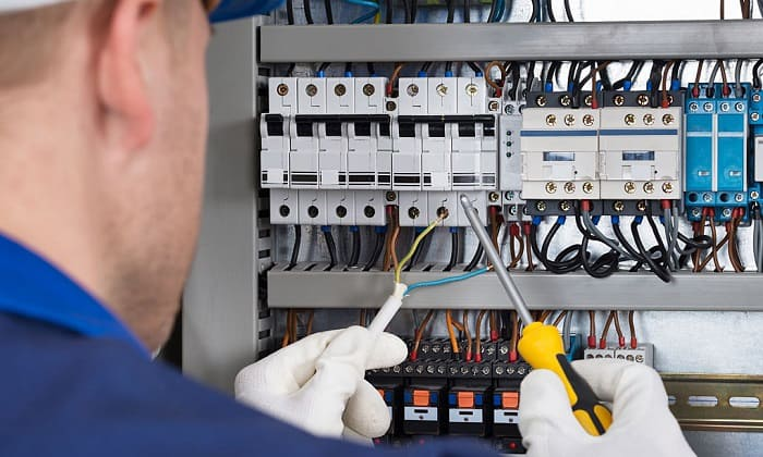how to wire a hot water heater to breaker box