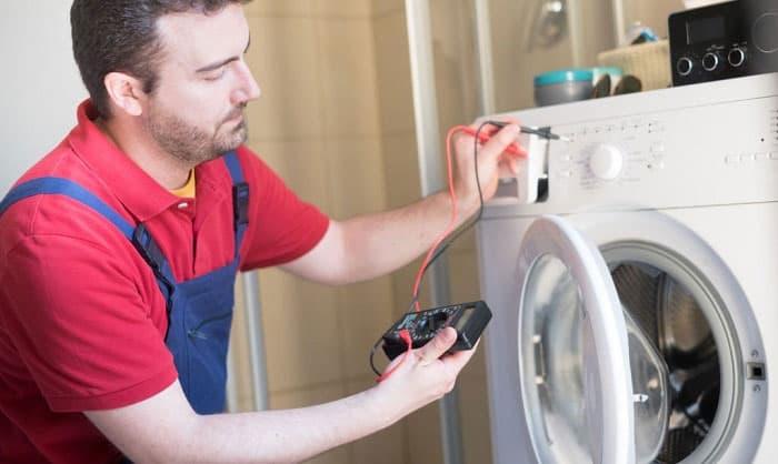 washing machine keeps tripping breaker